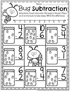 subtraction worksheets kindergarten subtraction worksheets subtraction kindergarten. Black Bedroom Furniture Sets. Home Design Ideas