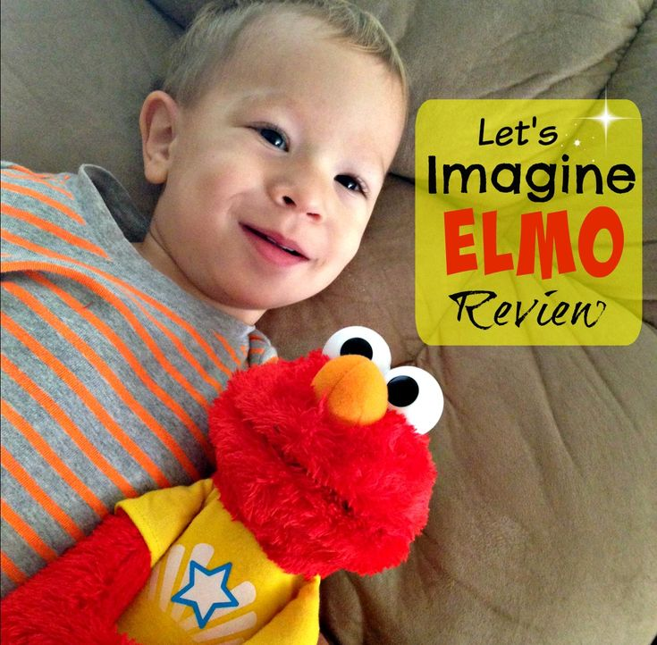 Playskool Let's Imagine Elmo Doll Review