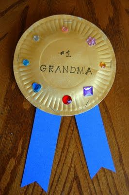 Grandparent's Day or Parent Appreciation Craft