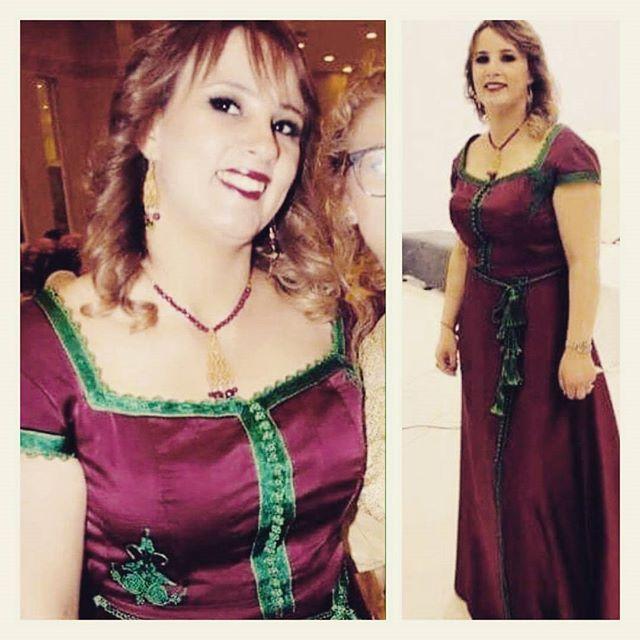 Madame koubâa dressed by #najehhautecouture #dress #Tradional ♡