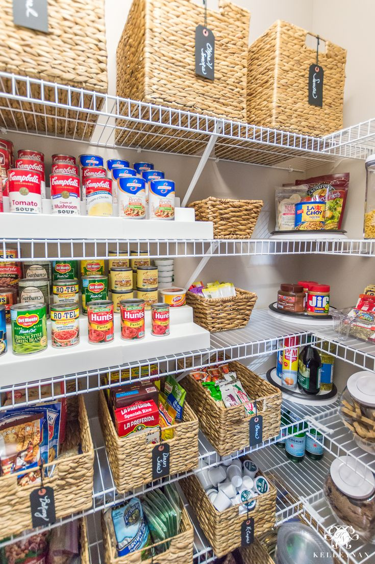 How To Organize Your Kitchen Pantry In A Small Space