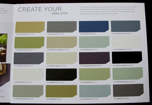 hgtv paint colors from sherwin williams mondays sherwin williams color palette and paint colors. Black Bedroom Furniture Sets. Home Design Ideas