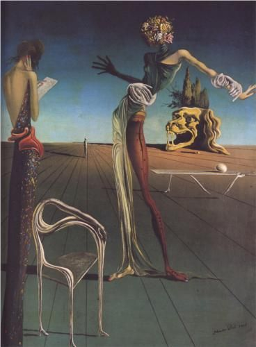Salvador Dali, Woman With a Head of Roses, 1935. My favourite artist