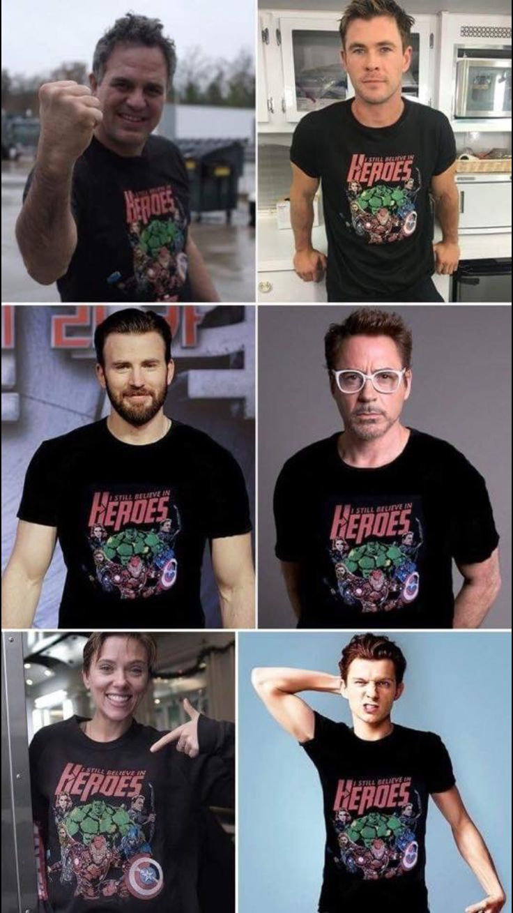 This made my day, especially since the shirts are photoshopped on