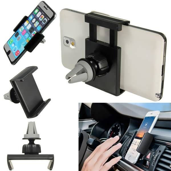 Universal Car Air Vent Mount Cradle Stand Holder For iPhone Cell Phone  Worldwide delivery. Original best quality product for 70% of it's real price. Hurry up, buying it is extra profitable, because we have good production sources. 1 day products dispatch from warehouse. Fast &...