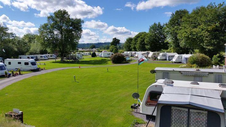 Erwlon Caravan & Camping Park, Llandovery, Carmarthenshire, Wales. Holiday. Travel. Camping. Campsite. Outdoors.