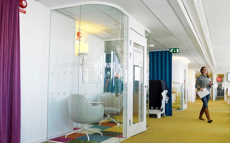FLEX GLASSLINE och FLEX FLOW TOP En vägglösning som uppfyller ljus- och designkrav.