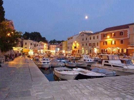 Little harbour at Veli Losinj - Croatia