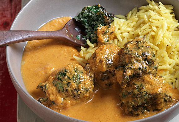 Anjum Anand's fluffy spinach koftas in a creamy tomato curry R/anjum-anands-fluffy-spinach-koftas-in-a-creamy-tomato-curry