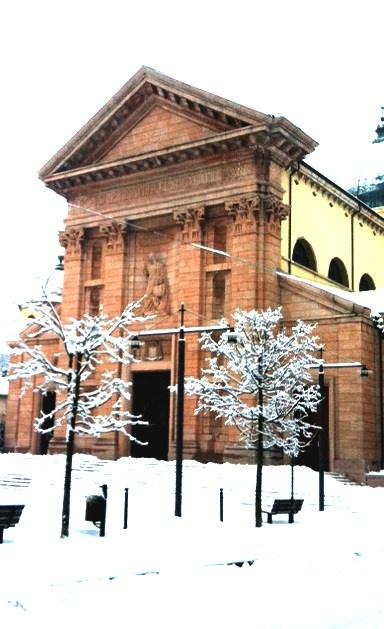 14/01/2013 Duomo di Asiago sotto la neve :-)