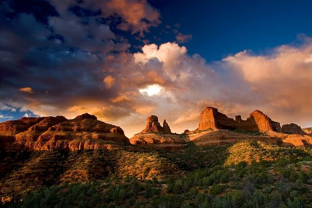 Golden Ridge, Sedona, Arizona - photo by Jeffrey Murray via Flickr.