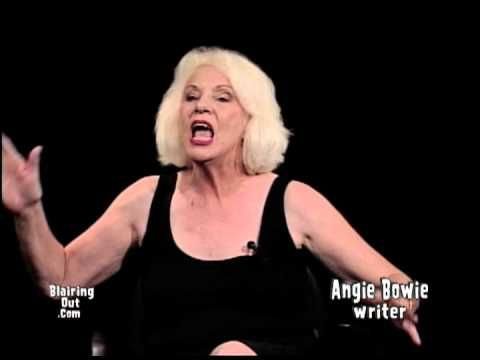 David Bowie's ex wife Angie Bowie talks with Eric Blair 2012 (55 min) - YouTube