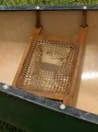 Image result for woven canoe seat
