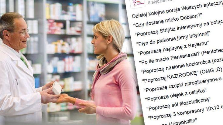 Franek i jego wędrówki: 'Poproszę halopierdol'. Farmaceutka pokazała, jak ...