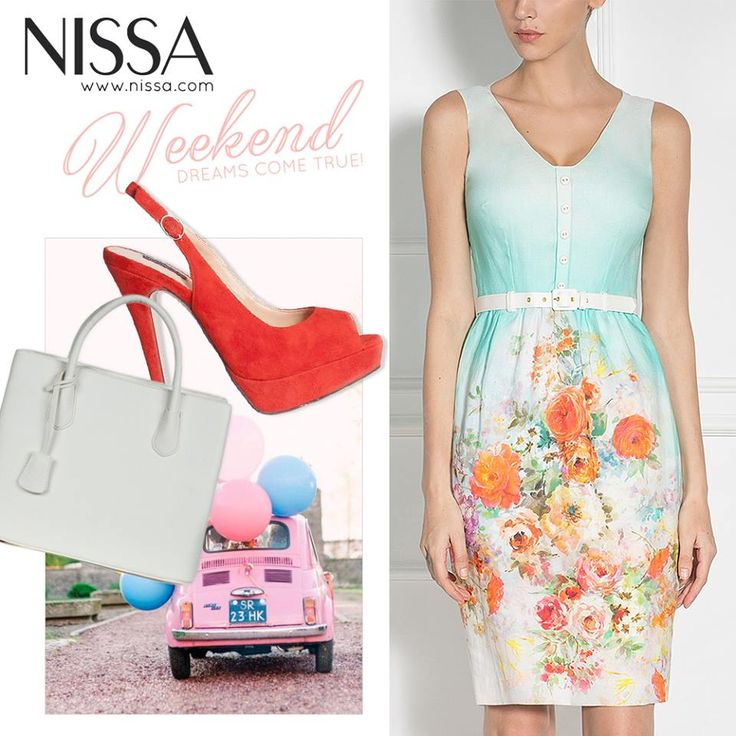 #nissa #outfit #fashion #fashionista #weekend #style #look #stylish #dress #shoes #heels #bag #inspiration  www.nissa.com