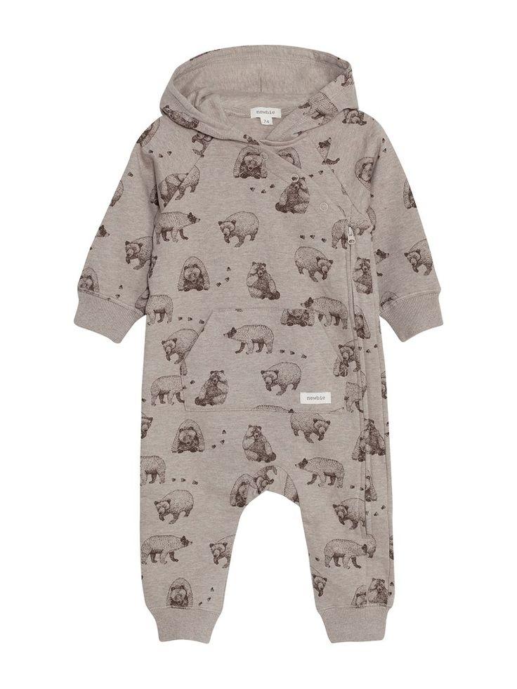 Mönstrad overall till baby – Shoppa online & i butik hos KappAhl