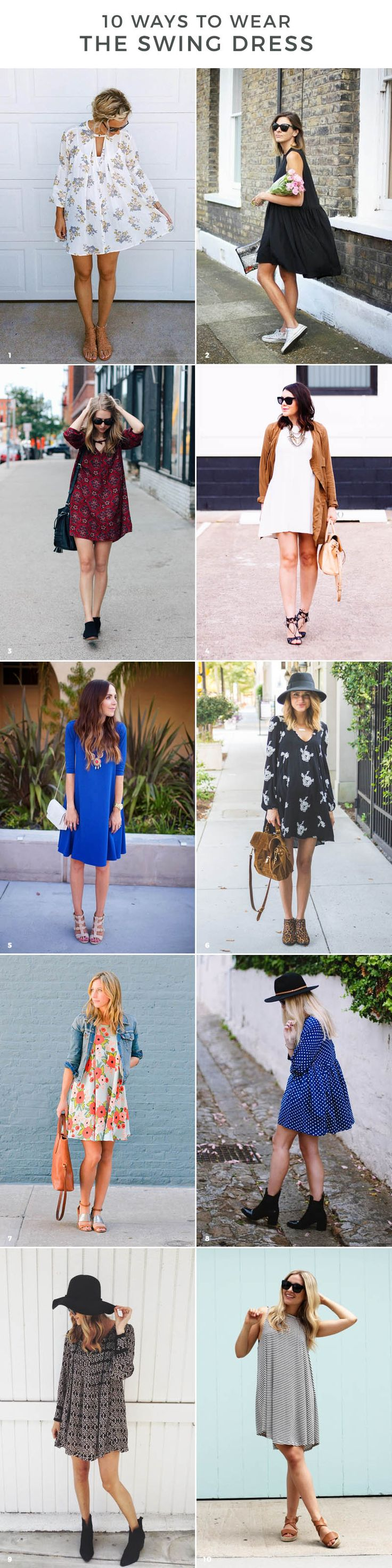 10 WAYS TO WEAR THE SWING DRESS THIS SPRING Advice from a Twenty Something waysify