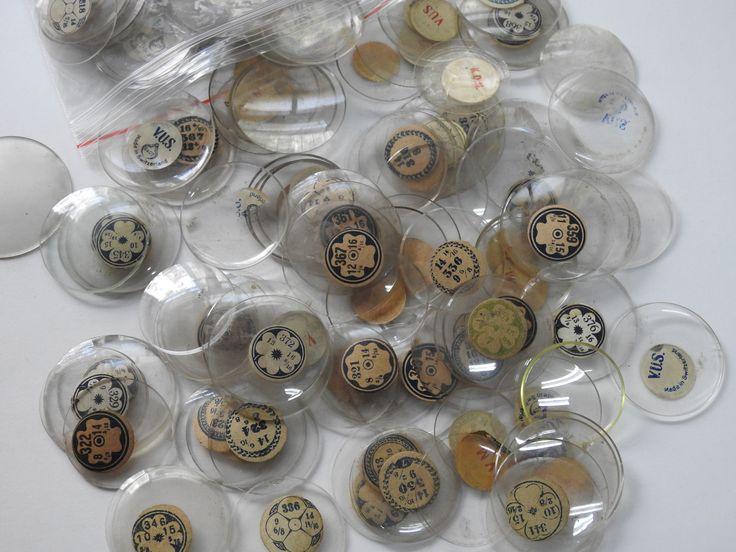 Kristal Farklı Çaplar da Cep Saatİ Camları