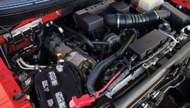 2017 Ford Raptor - engine