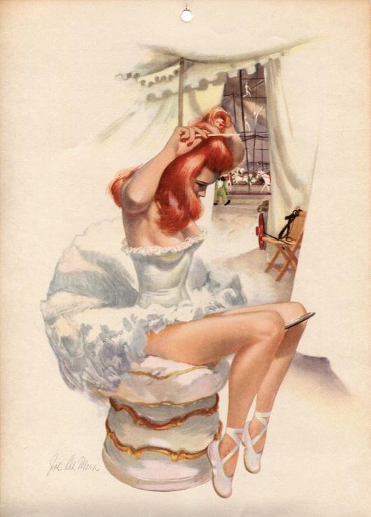 redheadDe Mer, Vintage Circus, Pin Up Art, Pinup Girls, Pinup Art, Vintage Girls, Joe De, Red Head, Pin Up Girls