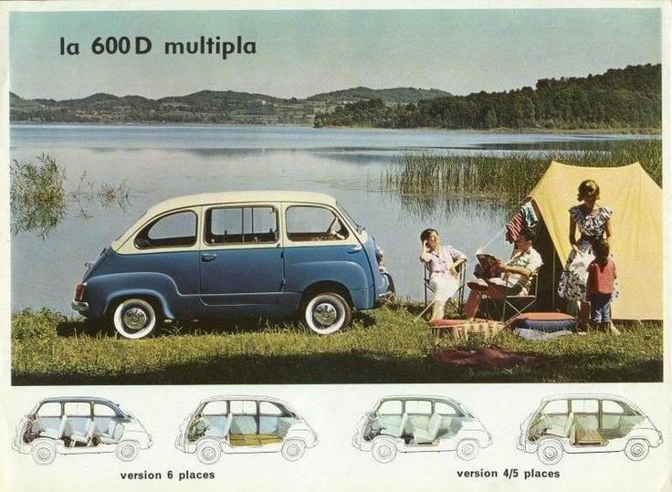 De Oude  De Eerste Fiat Multipla