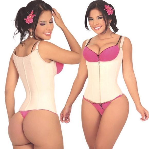 Sz36 Salome Clip/Zip Waist Trainer Vest Authentic Salome TOP Brand frm Colombia! New w/tags. Sz Large fits like a Medium,pants Sz 4-8. Runs small(see chart) I'm Certified Brand Distributor. See my results as I lost over 100 lbs using.  1⃣Lose Inches in your abdomen 2⃣Get rid of bulges 3⃣Can be worn while exercising 4⃣Great for belly & back fat.  5⃣Great for muffin tops 6⃣3 inner hooks & zipper  7⃣Gives hourglass shape once worn 8⃣Corrects posture 9⃣Made w/powernet spandex nylon Durable & can…