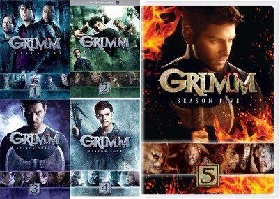 Grimm Seasons 1-5 (DVD)