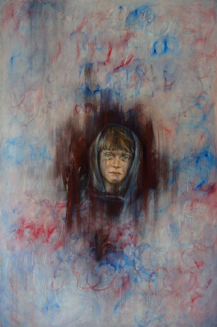 "Lidia Zdzieszyńska, ""Retrospection"", oil on canvas, 80/120cm, 2016"