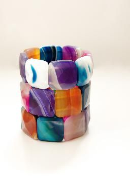 Agate Stone Bracelet - Lily & Me Accessories
