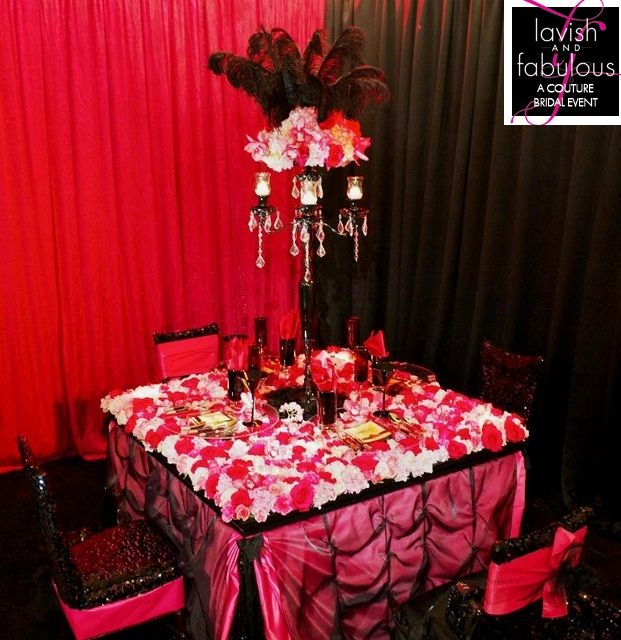 Moulin Rouge Wedding Theme