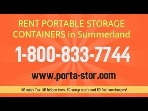 http://bit.ly/1W6aBGK If you need to Rent Storage Containers in Summerland, Rent a Porta Stor portable steel container in Summerland, California. Our contain...