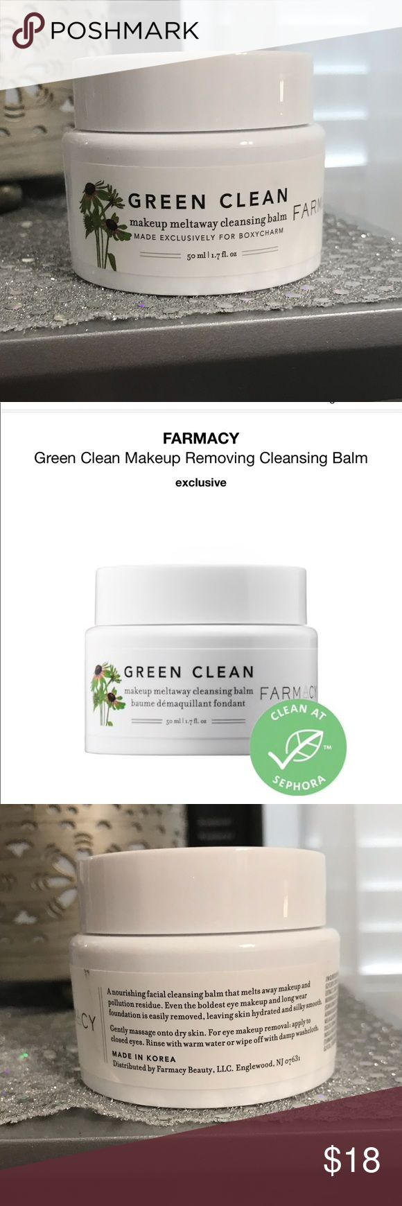 Farmacy Cleansing Balm Farmacy Green Clean Makeup Removing