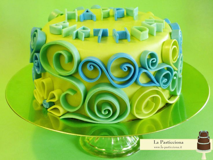 Happy Birthday! www.la-pasticciona.it