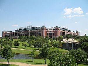 Texas Rangers (baseball) - The Ballpark in Arlington