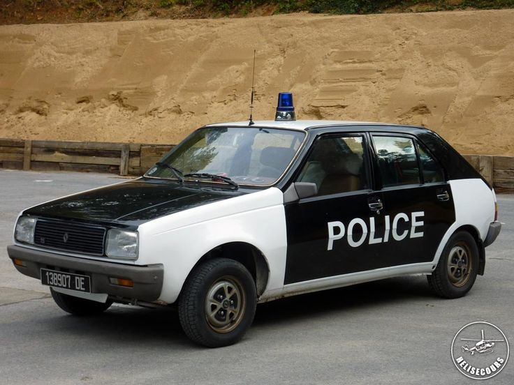 French police car - Renault 14