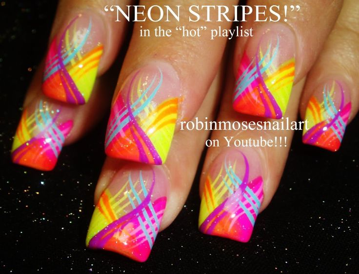 Best 25+ Bright nail designs ideas on Pinterest | Coral nail designs, Coral  nails and Pretty nails - Best 25+ Bright Nail Designs Ideas On Pinterest Coral Nail