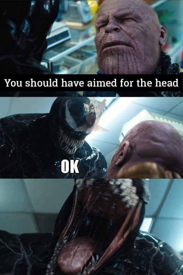 Okay one more #Venom p...