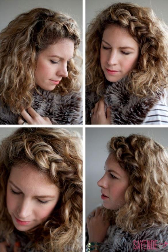 Kıvırcık saç modellerini uygulamak oldukça basittir. Kıvırcık Saç Toplama Modelleri, Kıvırcık Saç Modelinde Su Dalgası Modeli ve daha fazlası için örnekler burada...