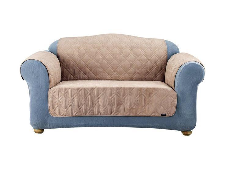 Purple Loose Cover Sofa