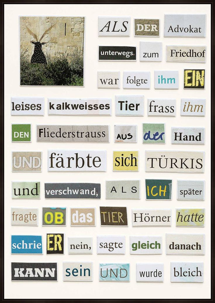Das kalkweisse Tier - Herta Müller - Bilder, Fotografie, Foto Kunst online bei LUMAS