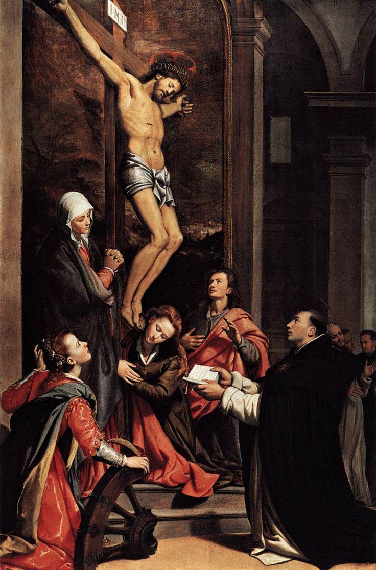 Santi di Tito: The Vision of Saint Thomas Aquinas (1593)