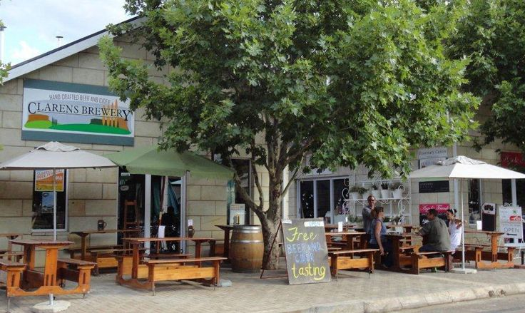 CLARENS BREWERY … Clarens' very own brewery on the Clarens square …  been brewing in Clarens since 2006 ... My favourite ... CLARENS BLONDE.