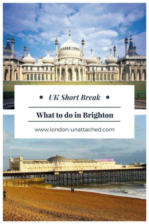 brighton getaway - brighton short break - brighton city break #Brighton #DayTrip #shortbreak