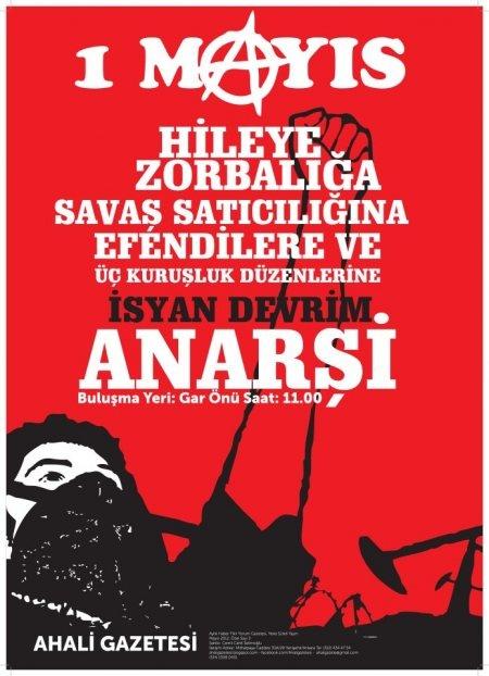 ahali gazetesi- 1 Mayıs