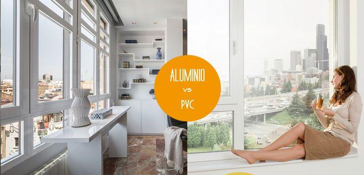 Ventanas de aluminio y de pvc