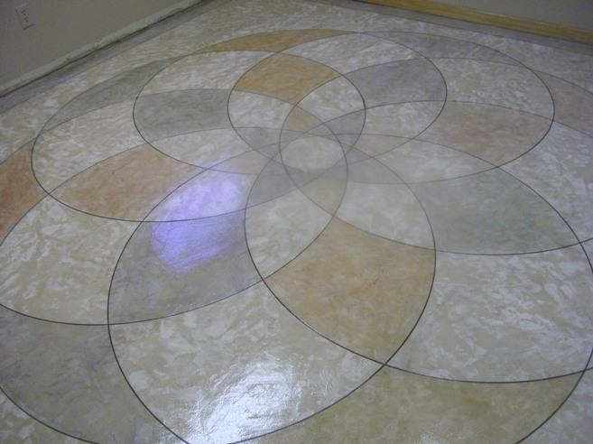 this great geometric design was stained and engraved by murray decorative concrete supply mike you are an outstanding leader in the decorative concrete - Decorative Concrete Supply