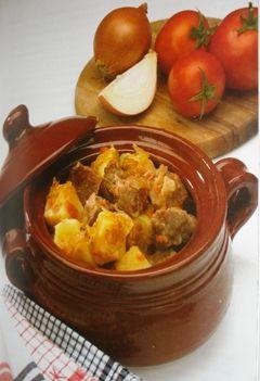 Ttavas - Cyprus cumin lamb casserole