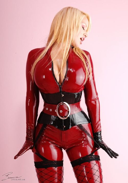 German Latex And Rubber Femdom Dvd 13