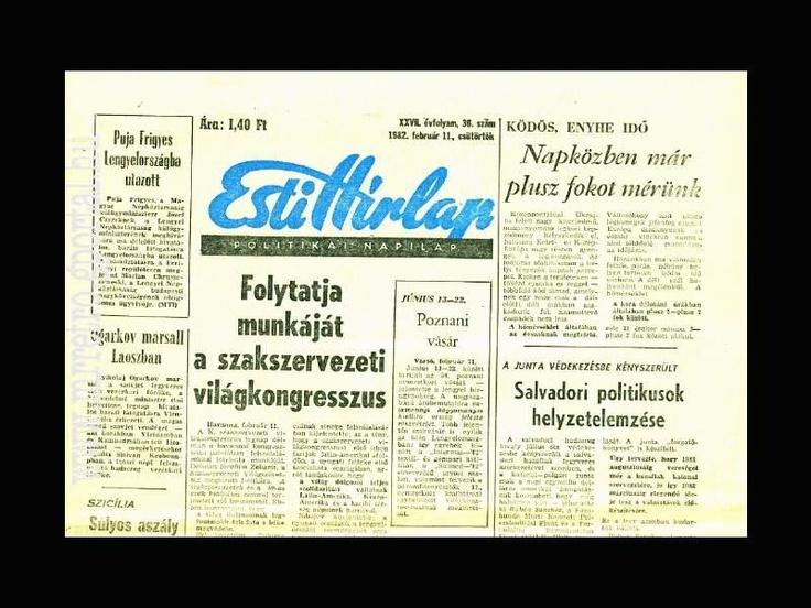 Esti Hirlap Februar 1982
