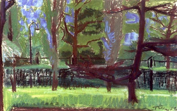 Τέτσης Παναγιώτης-Πάρκο, 1956 Panayiotis Tetsis